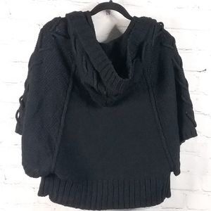 Cozy Casual Sweaters - 💜 Comfy Casual | Knit 5 button Sweater | Black